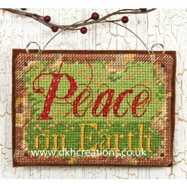 Peace On Earth Ornament Cross Stitch Kit